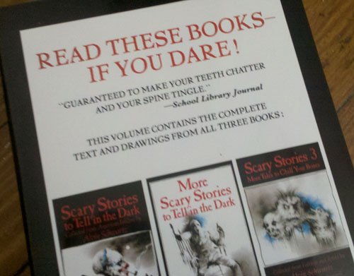 Read these books...if you dare!