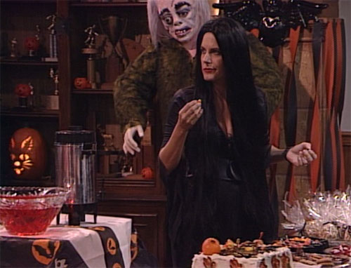 Crystal as Elvira