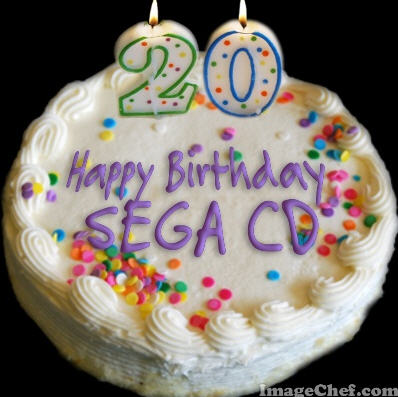 Sega CD Birthday Cake