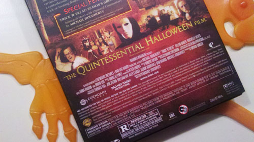 Trick r Treat DVD - Back Cover