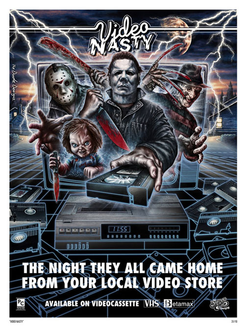 Video Nasty - The Dude Designs