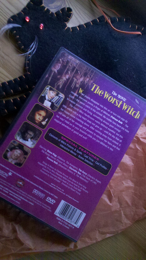 Worst Witch Back Cover