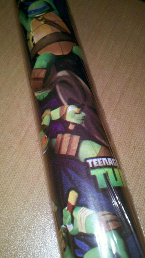 TMNT Gift Wrap