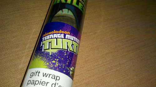 Nickelodeon TMNT Gift Wrap