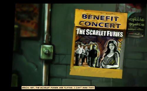 The Scarlet Furies poster in Cognition