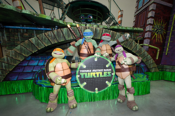 Nickelodeon's TMNT Float