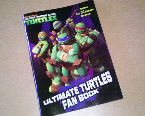Nickelodeon Teenage Mutant Ninja Turtles Ultimate Fan Book