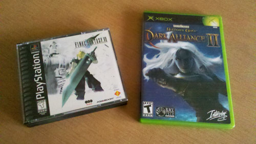 Final Fantasy VII & Buldur's Gate Dark Alliance II