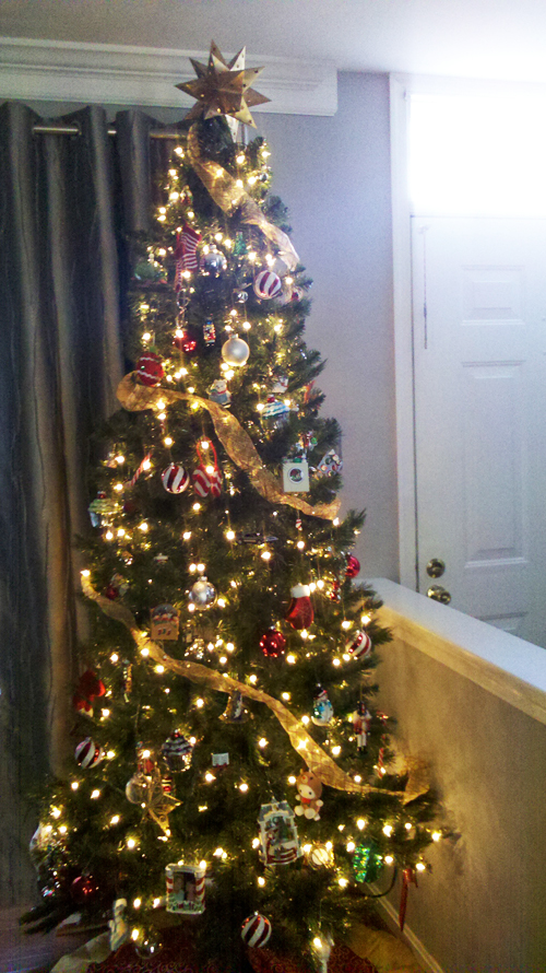 ShezCrafti's Christmas Tree 2012