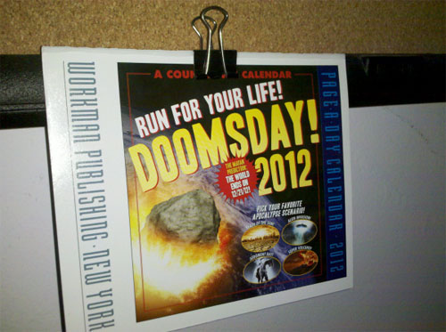 Doomsday 2012 Calendar