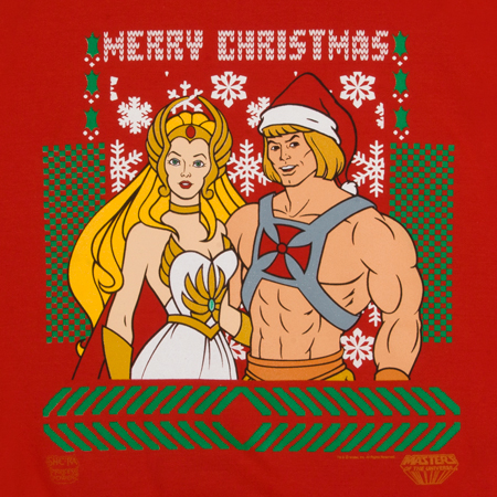 He-Man & She-Ra Christmas Sweater