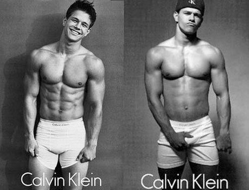 Marky Mark 90s Calvin Klein Ads