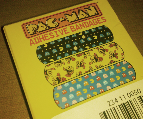 Pac-Man Band-Aids