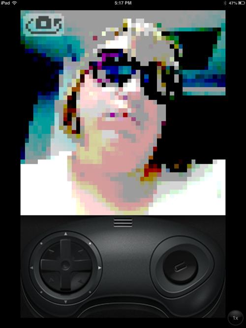 Sega Genesis Camera Filter