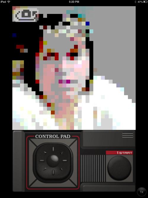 Sega Master System Camera Filter