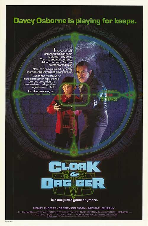 Cloak & Dagger (1984) Poster