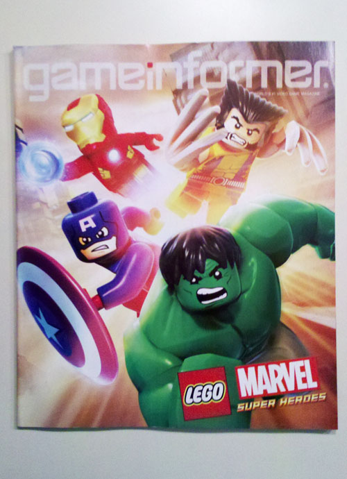 Game Informer - LEGO Marvel