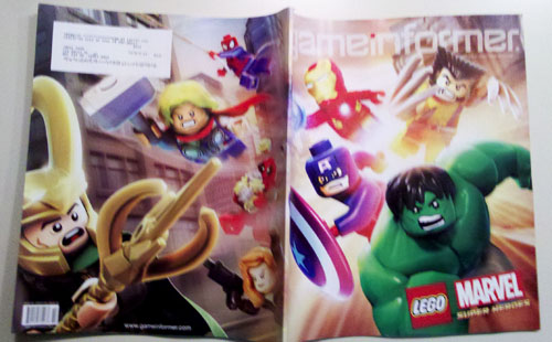 Game Informer - Front & Back Cover