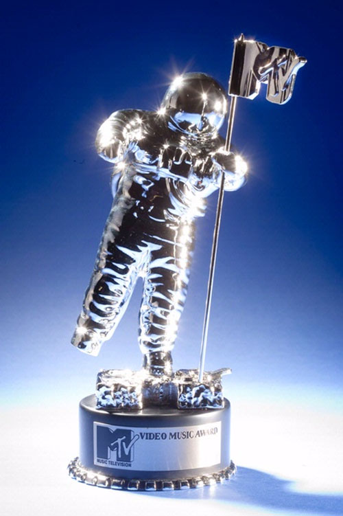 Moon Man Statue
