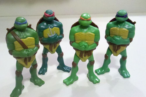 4Kids TMNT Happy Meal Toys