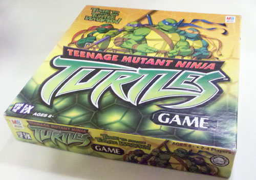 TMNT Board Game Box