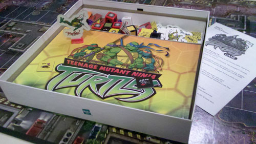 TMNT Board Game Pieces
