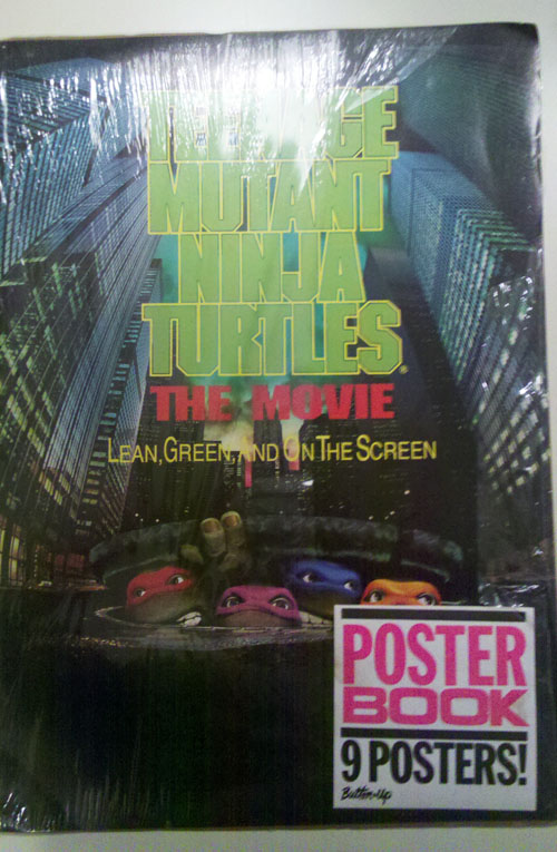 TMNT Movie Poster Book