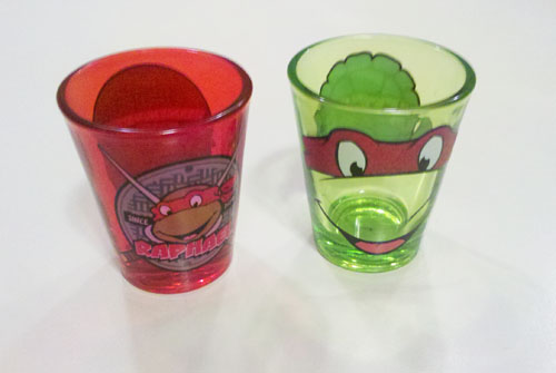 TMNT Shot Glass - Front