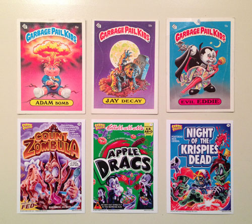 Garbage Pail Kids & Creal Killers