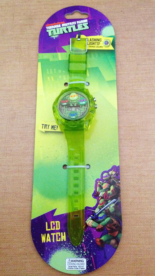 Nick Turtles LED Flashing Watch