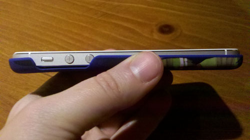 TMNT iPod Case on iPhone - Thickness