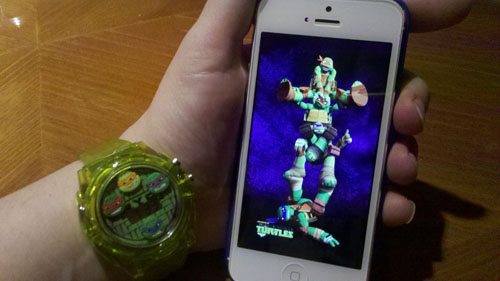 TMNT iPhone Case Front