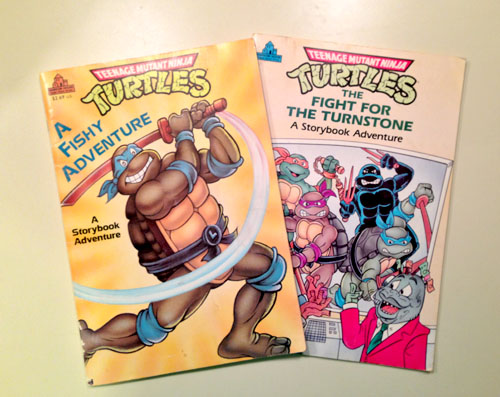 TMNT Story Adventure Books