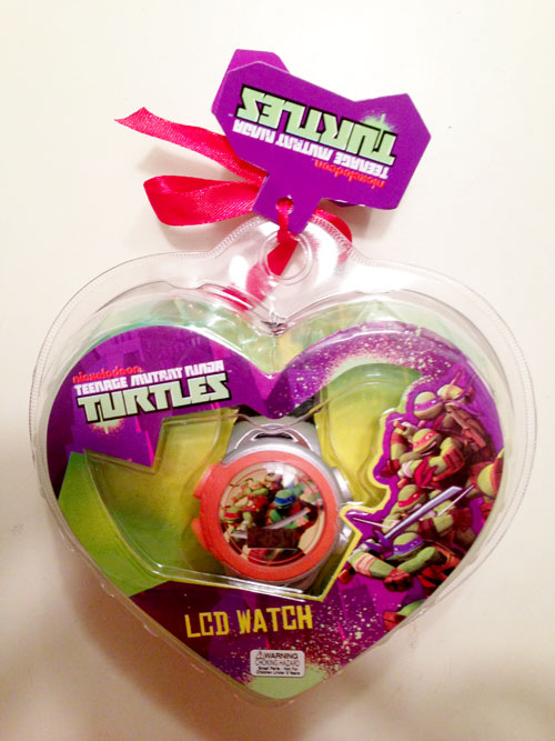 TMNT Valentine's Day Watch