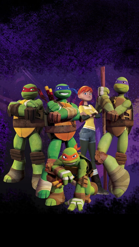 TMNT iPhone 5 Wallpaper