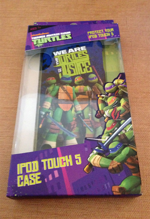 We Are the Turtles of Justice! iPod 5 Case