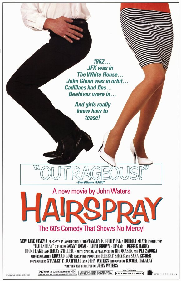 Hairspray 1988 Poster