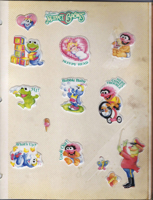 Muppet Babies Stickers