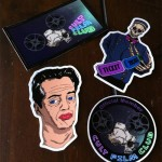 Cult Film Club Die-Cut Stickers
