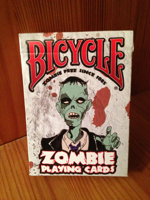 Deck of Bicycle Zombie Playing Cards