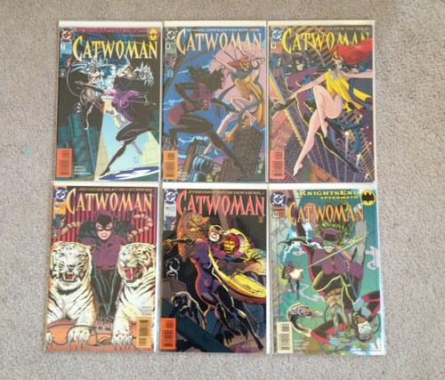 Catwoman Comics, Group 2