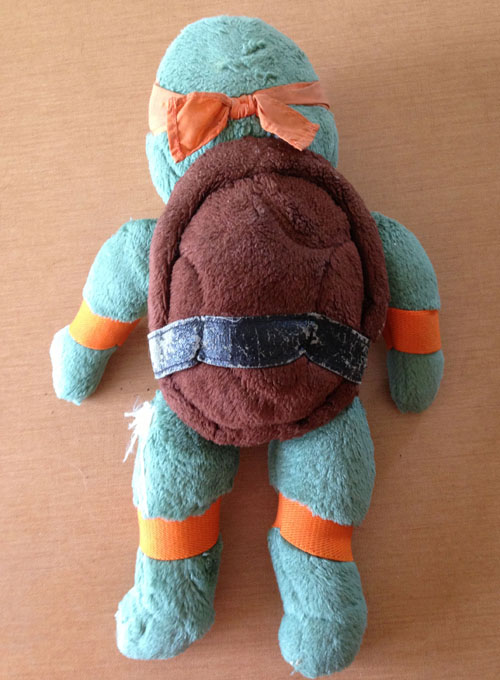 Michelangelo Plush - Back