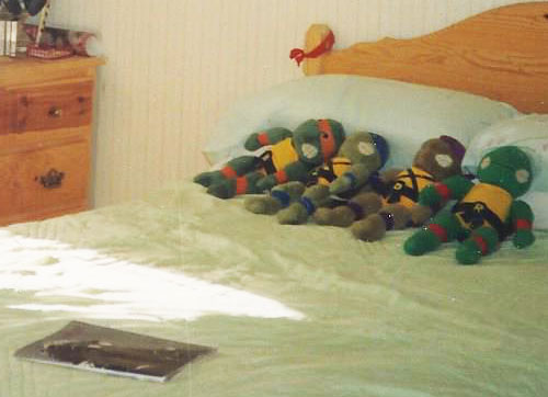 My Bedroom in 1989