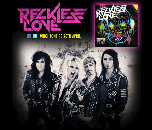 Reckless Love - Night On Fire 2013
