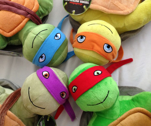 Teenage Mutant Ninja Turtles Cuddle Pillows