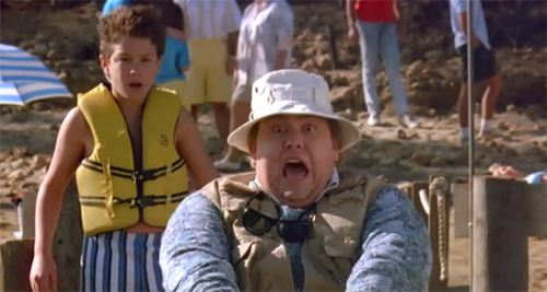 John Candy Waterskiing