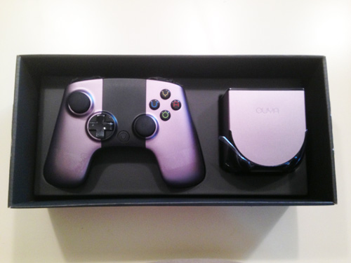 Ouya in Box