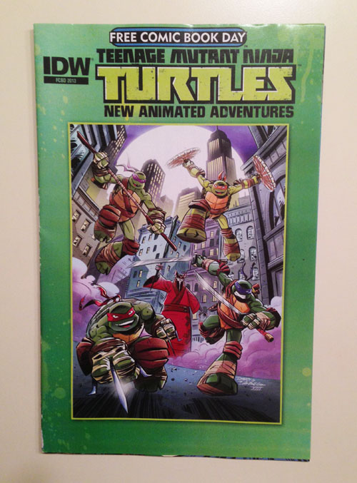 IDW TMNT Free Comic Book Day Comic