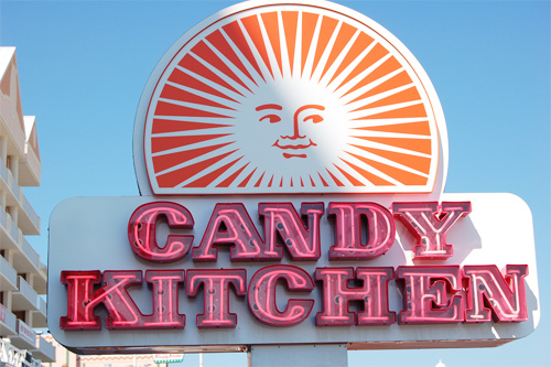 Candy Kitchen Sign