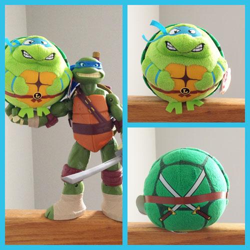 Leonardo TY Beanie Ball - Front & Back